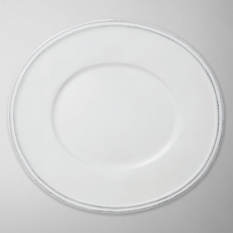 Buy Brissi Amalfi Plate, White Online at johnlewis.com