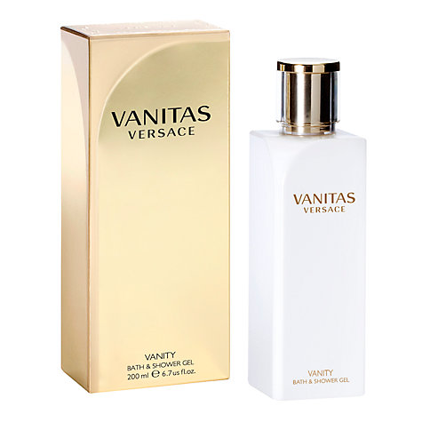 Buy Versace Vanitas Bath & Shower Gel, 200ml Online at johnlewis.com