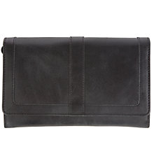 Buy John Lewis Emma Large Flapover Leather Purse Online at johnlewis.com