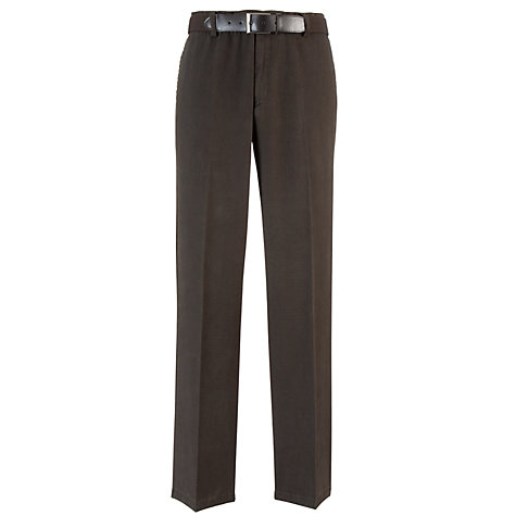 Buy John Lewis Semi Formal Pinpoint Belted Trousers Online at johnlewis.com
