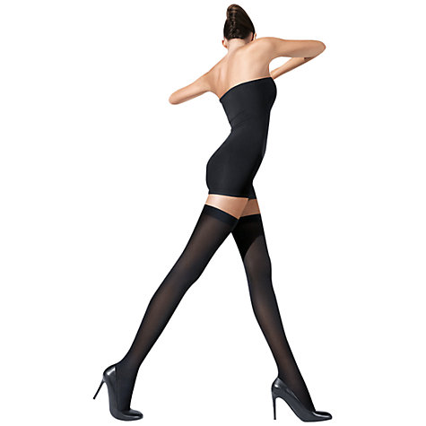 Buy Wolford Fatal 80 Denier Seamless Hold-Ups Online at johnlewis.com
