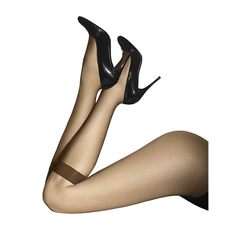 Buy Wolford Individual 10 Knee-Highs, Caramel Online at johnlewis.com