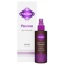 Buy Fake Bake Flawless Self-Tan Liquid, 170ml Online at johnlewis.com