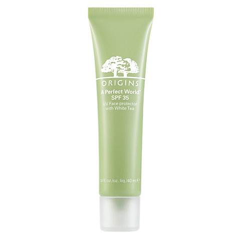 Buy Origins A Perfect World SPF35 UV Face Protector with White Tea, 40ml Online at johnlewis.com
