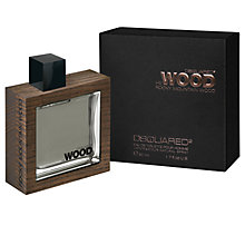 Buy Dsquared2 He Wood Rocky Mountain Wood Eau de Toilette Online at johnlewis.com