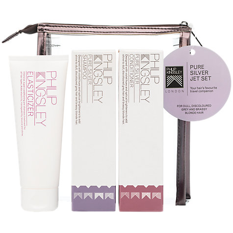 Buy Philip Kingsley Pure Silver Jet Set Hair Care Kit Online at johnlewis.com