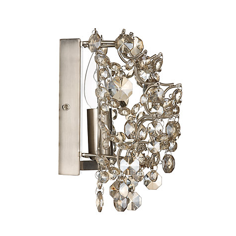 Buy John Lewis Evelyn Smokey Wall Light Online at johnlewis.com