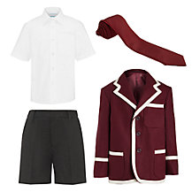 Tockington Manor School Boys' (Years 3 - 8) Summer Uniform