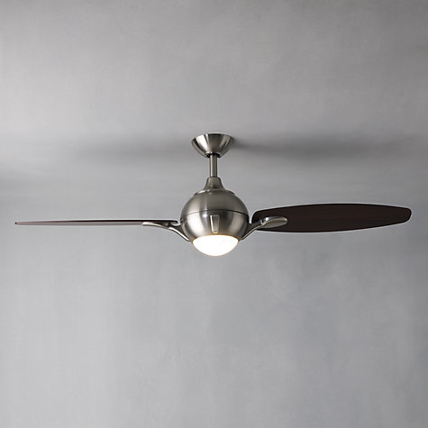 Buy Fantasia Propeller Ceiling Fan and Light, Dark Oak Online at johnlewis.com