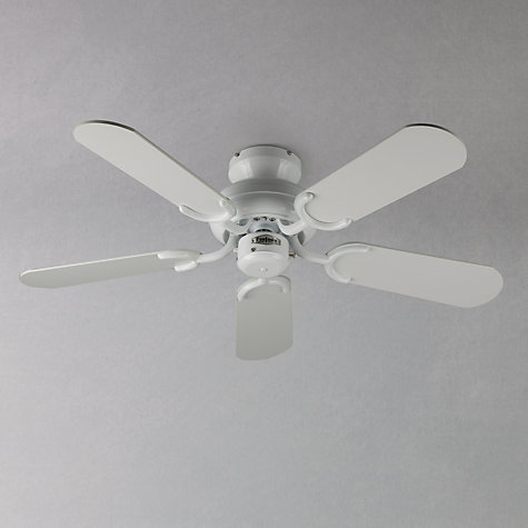 Buy Fantasia Capri Ceiling Fan, White Online at johnlewis.com