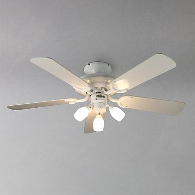 fantasia mayfair ceiling fan and light white. Black Bedroom Furniture Sets. Home Design Ideas