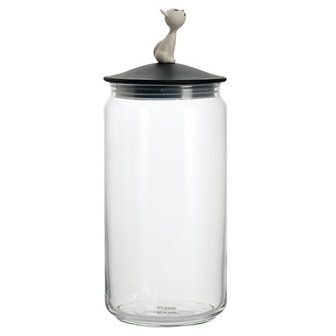 Buy Alessi Pets Cat Food Jar, Mio Online at johnlewis.com