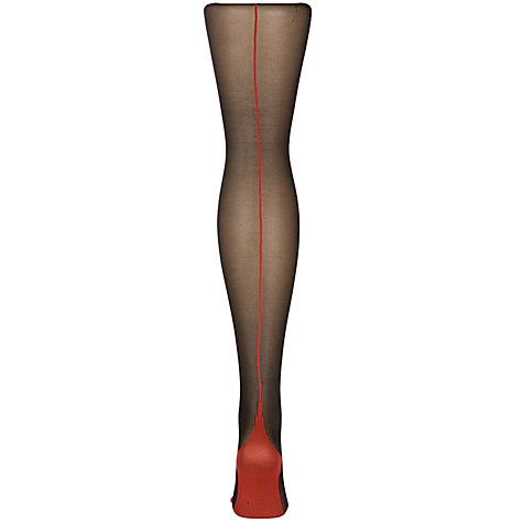 Buy Jonathan Aston Contrast Seam Heel Tights Online at johnlewis.com
