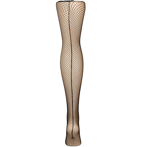 Buy Jonathan Aston Fishnet Backseam Tights Online at johnlewis.com