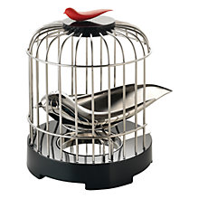 Buy Alessi Tea Strainer with Bird Cage Online at johnlewis.com