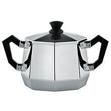 Buy Alessi Ottagonale Sugar Bowl Online at johnlewis.com