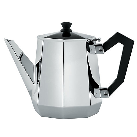 Buy Alessi Ottagonale Teapot, 0.9L Online at johnlewis.com