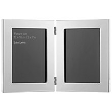 Buy John Lewis Plain Double Photo Frame Online at johnlewis.com