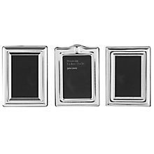 "Buy John Lewis Miniature Photo Frames, Set of 3, 2 x 3"" (5 x 8cm) Online at johnlewis.com"