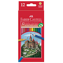 Buy Faber-Castell Coloured Pencils, Set of 12 Online at johnlewis.com
