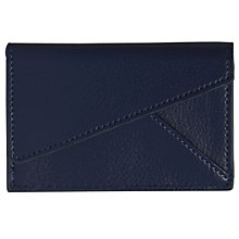 Buy Campo Marzio Business Card Holder, Blue, Small Online at johnlewis.com