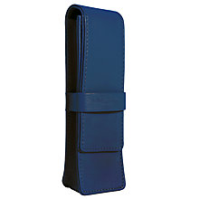 Buy Campo Marzio Double Pen Case, Blue Online at johnlewis.com