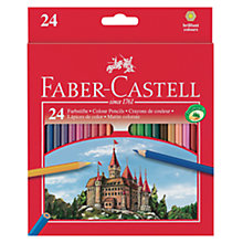 Buy Faber-Castell Coloured Pencils, Set of 24 Online at johnlewis.com