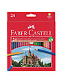 Faber-Castell Coloured Pencils, Set of 24