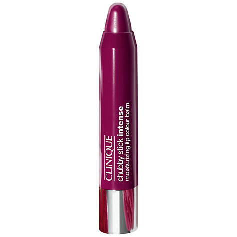 Buy Clinique Chubby Stick Intense Moisturising Lip Colour Balm Online at johnlewis.com