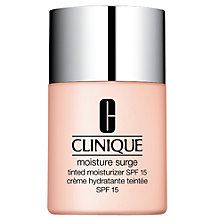 Buy Clinique Moisture Surge Tinted Moisturizer SPF15, 30ml Online at johnlewis.com