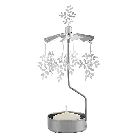 Buy Rotary Tealight Holder, Leaves Online at johnlewis.com