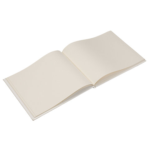 Buy John Lewis Guest Book, Ivory Online at johnlewis.com