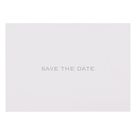 Buy John Lewis Save The Date Invitation Cards, Pack of 6 Online at johnlewis.com
