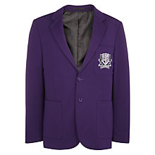 Buy Alderbrook Senior School Boys' Blazer, Purple Online at johnlewis.com