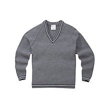 Buy Alderbrook Senior School Boys' Pullover, Grey Online at johnlewis.com