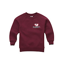 Buy Blossomfield Nursery and Infant School Unisex Sweatshirt, Maroon Online at johnlewis.com