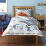 little home at John Lewis Dinotastic Duvet Cover and Pillowcase Set