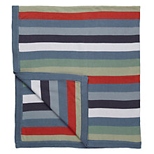Buy little home at John Lewis Dinotastic Stripey Throw Online at johnlewis.com