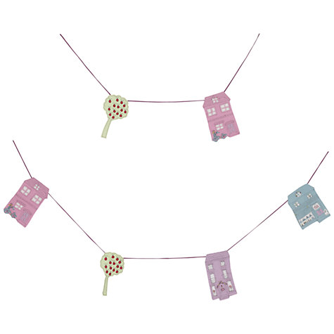 Buy little home at John Lewis My Street Houses Bunting, 240cm Online at johnlewis.com