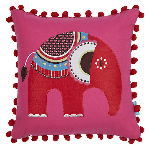 Buy little home at John Lewis Abbey Elephant Cushion Online at johnlewis.com