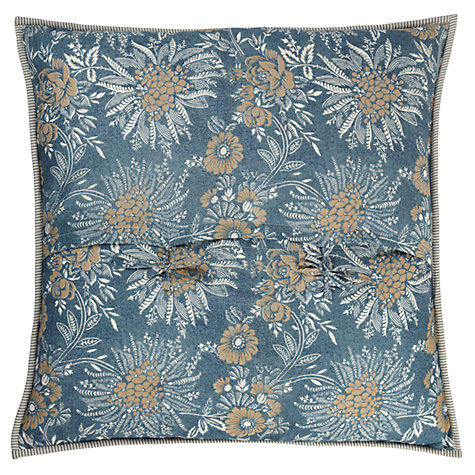 Buy John Lewis Eleanora Stripe Pillow / Cushion Cover, Teal Online at johnlewis.com