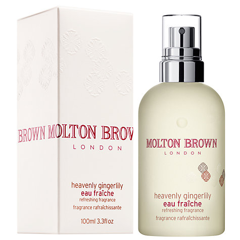 Buy Molton Brown Heavenly Gingerlily Eau Fraîche, 100ml Online at johnlewis.com