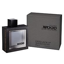 Buy Dsquared2 He Wood Silver Wind Wood Eau de Toilette Online at johnlewis.com
