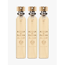 Buy Acqua di Parma Iris Nobile Travel Spray Refill Set, 3 x 20ml Online at johnlewis.com