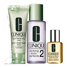 Buy Clinique 3-Step Skin Care Introduction Kit, Skin Type 2 Online at johnlewis.com