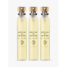 Buy Acqua di Parma Magnolia Nobile Travel Spray Refill Set, 3 x 20ml Online at johnlewis.com
