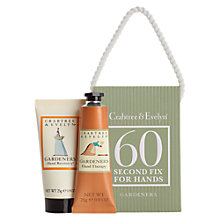 Buy Crabtree & Evelyn Gardener's Mini 60 Second Hand Cream Fix Kit, 50g Online at johnlewis.com