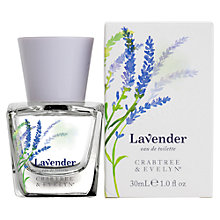 Buy Crabtree & Evelyn Lavender Eau de Toilette, 30ml Online at johnlewis.com