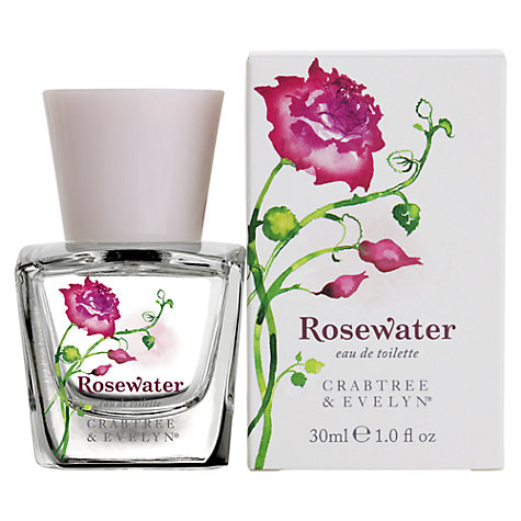 Buy Crabtree & Evelyn Rosewater Eau de Toilette, 30ml Online at johnlewis.com