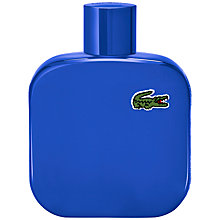 Buy Lacoste Eau de Lacoste L.12.12 Bleu Eau de Toilette, 100ml Online at johnlewis.com